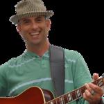 JG with guitar